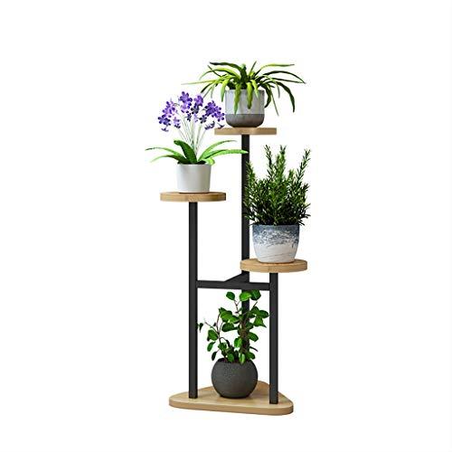 Plantenrekken voor binnen in het huis woonkamer Flower Stand Floor Plant Rack Multi-layer Balkon Opslag Rack Badkamer Rack, Multi-layer Opslagruimte, Geschikt voor Woonkamer Tuin Balkon Hoek Bat