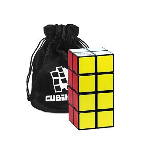 Rubik's Cube Tower – Zauberturm - Der Original Rubik 2x2x4 Zauberwürfel mit Tasche