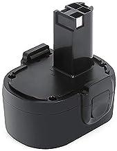 Skil Batería 14,4V 3000mAh, REEXBON 14.4V NI-MH Batería de Reemplazo para Skil 144BAT 2607335512 2585 4567 2566 2565 2567 2568 2575 2584 144VXT