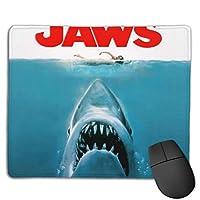 ジョーズ (4) おしゃれ 周辺機器 パソコン マウスパッド 人気 3d柄プリント ゲーミング マウスパッド 耐久性が良い 防水 滑り止め オフィス デスクマット キーボードパッド 水で洗えるマウスパッド