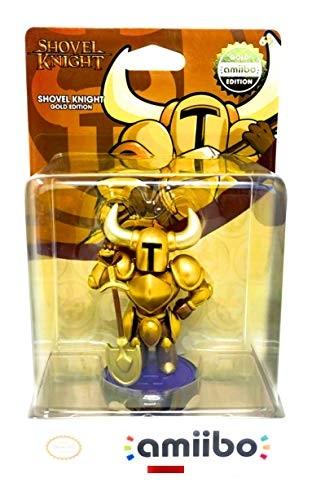 Shovel Knight: Treasure Trove Amiibo Gold Edition -  Nintendo, YC01222