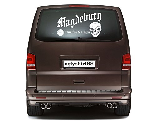 Magdeburg Autoaufkleber 45 cm   Hardcore   Sticker   Aufkleber   KSM1