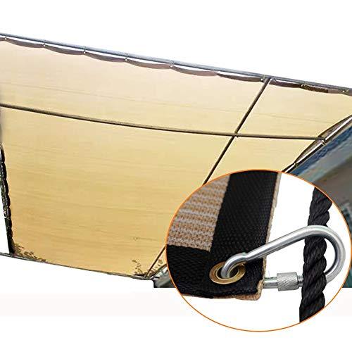 Filet d'ombrage Bordure en Tissu de Protection Solaire avec Œillets et Crochets, Solarium/Jardin/Camping Filet D'ombrage de Cryptage, Facile À Installer (Size : 4×5m)