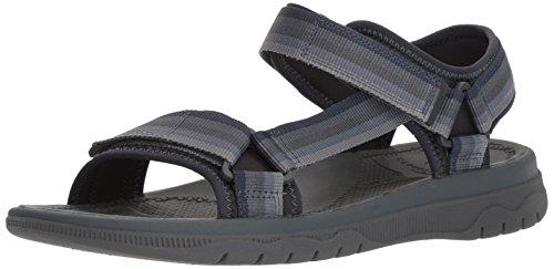 Clarks Men's Balta Reef Sandal, Grey Synthetic, 130 M US