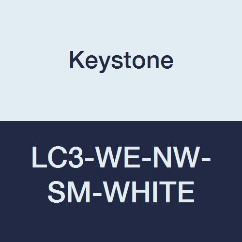 Keystone LC3-WE-NW-SM-WHITE Polypropylene Lab latest Arlington Mall Pocket El Coat 3