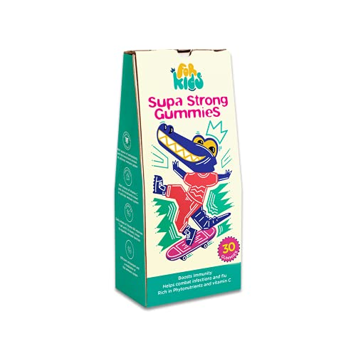 Forkids Amla & Tulsi Gummies   Best Multi vitamin supplements to boost immune system, Rich in Antioxidant and Anti-inflammatory Properties- with Vitamin E and B6