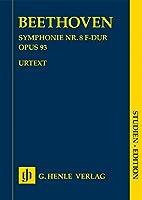 BEETHOVEN - Sinfonia nコ 8 en Fa Mayor Op.93 para Orquesta (Partitura Bolsillo) (Urtext)