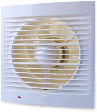 JHYS Ventilador Extractor de Pared, Extractor de baño silencioso Impermeable Extractor de Ventana para Ventiladores de ventilación de Inodoro de Cocina