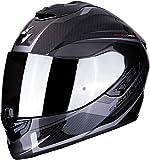 Scorpion NC Casco per Moto, Adultos Unisex, Negro/Gris, S