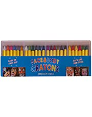 24 Colors Body Paint Crayon Face Paint Set, Children Face Painting, Face And Body Makeup Crayons,Christmas, Birthday Party, Football Match, Casual Party, 100% Safe And Non-Toxic (1 Piece)