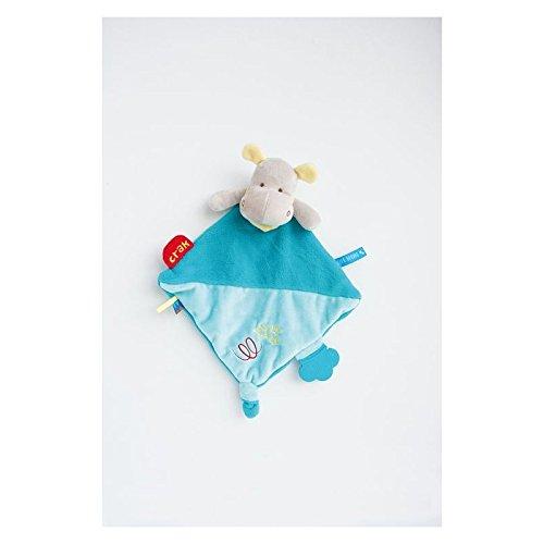 Babynat - Doudou Babynat Hipoppotame Super Doudou Vert Crack BN0289-8984