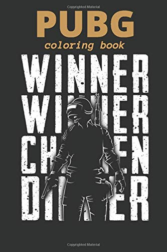 PUBG COLORING BOOK: ALL IN ONE [Characters, Weapons, grenade, Drop,car, the pan, energy drink, pain killers...]