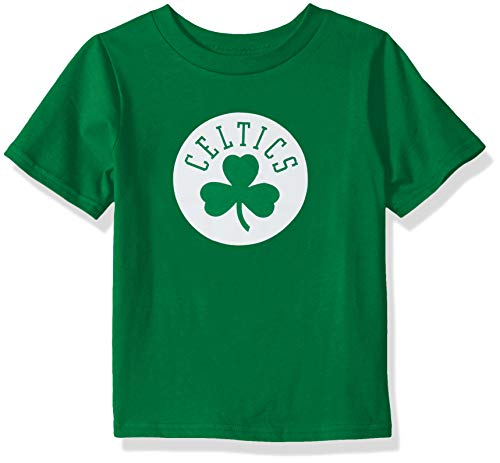 Outerstuff Youth NBA 'Primary Logo' Short Sleeve Basic Tee Boston Celtics, Kelly Green, Youth Large (12-14)
