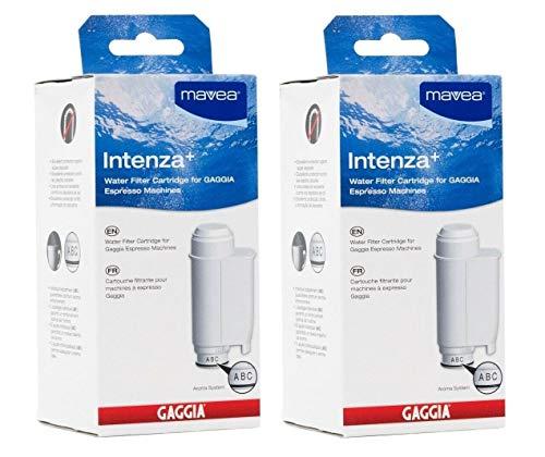 Intenza Mavea Water Filter for Gaggia Espresso Machines- Double Pack by Gaggia