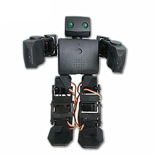 Kit De Robot Humanoide Multifunción PLEN2 para Impresora Arduino 3D Open Source Plen 2 para Control WiFi DIY Robot Modelo De Enseñanza De Graduación De Juguete, Negro