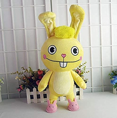 Siamrose Happy Tree Friends Anime Plush Dolls HTF Cuddles Cute Plush Toys 40cm Almohada suave para regalo LTLNB