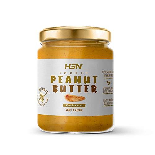 Crema de Cacahuete Natural Peanut Butter Suave y Cremosa   100% Sabor | Apto Vegetariano, Sin Grasa de Palma, Sin Grasa Trans, Sin azúcar ni Sal añadidos, 250g