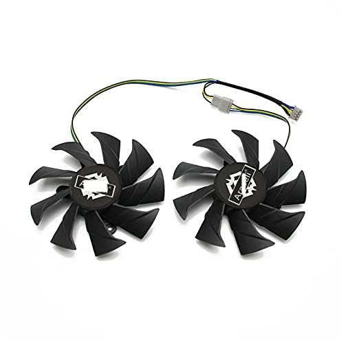 Reemplazo del Ventilador del refrigerador VGA de 85 mm 4Pin VGA para Zotac GTX1060 6GB OC GTX 1060 3GB Gráficos Tarjeta de Video Fan de enfriamiento