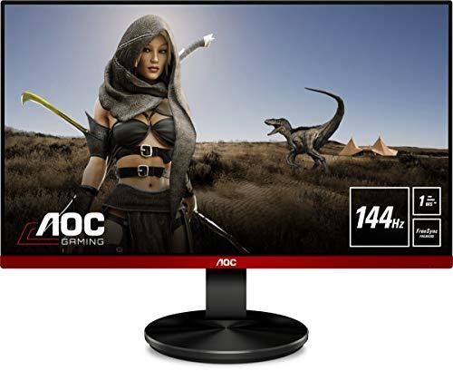 """AOC Monitor Gaming G2490VXA - 24"""" Full HD, 144Hz, 1Ms, VA, FreeSync Premium, 1920x1080, 350 cd/m, HDMI, Displayport 1x1.2"""