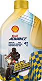 Advance Shell Promo 20W40 4 Stroke Motorcycle Engine Oil-1000 ml