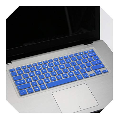 For Dell 2019 Inspiron 14 inch 5000 Series 5488 5482 5485 5481 5455 5447 i5379 i5482 i5481 i5485 laptop keyboard cover skin-blue-