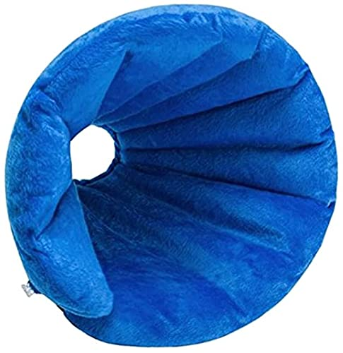 WSYGHP Collier Gonflable pour Animaux de Compagnie pour Chiens Cône de Chat après la chioscope Ajustable Récupération Collier de Protection pour Petits Chiens de Grande Taille Collier pour Chien