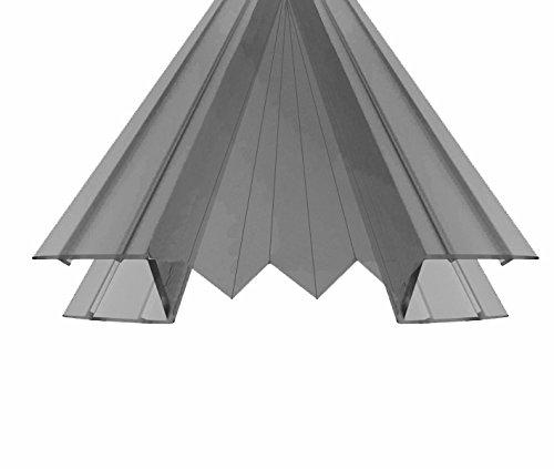 Für 6-8 mm Glasscheiben / Dichtung für Duschen- und Trennwände (Nr. 44, 195 cm) / Dichtung Dichtleiste Duschdichtung für Duschkabine Duschwand Duschabtrennung