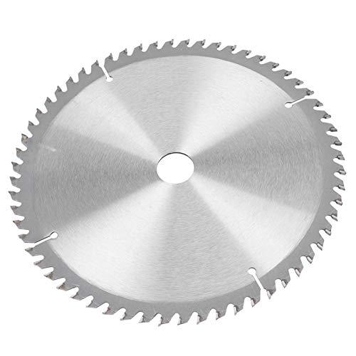 Hojas de sierra Disco de corte redondo de 9,1 x 0,1 x 1 pulgada Hoja de sierra circular de carburo 40T 60T 80T para procesamiento de madera con dientes prolijamente dispuestos(60T)