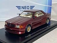 NEO 46601 1/43 メルセデス ベンツ 500 SEC Koenig Specials ケーニッヒ Red