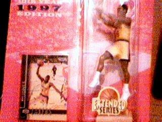 Eddie Jones 1997 Edition Extended Series Starting Lineup NBA Action Figure