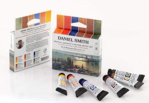 Daniel Smith 285610389 Prafull Sawants's Master Artist Set Watercolor Paint, 5ml, Multicolor 6