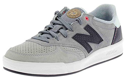 New Balance Men's Men's Leather Tennis Shoes In Grey In Size 42 Grey
