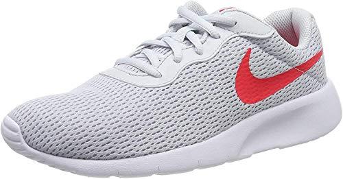 Nike Tanjun (GS), Scarpe da Running Uomo, Grigio (Pure Platinum/Red Orbit 024), 36.5 EU