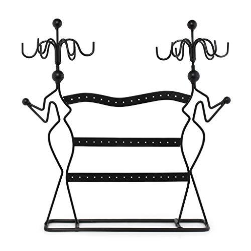 Rongzou - Soporte de exhibición para pendientes, anillo, pulsera, collar y escaparate