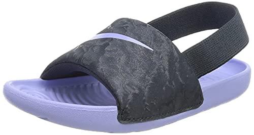 Nike Kawa Slide (TD), Scarpe da Ginnastica Unisex-Bambini, Blu (Thunder Blue/Purple Pulse), 19.5 EU