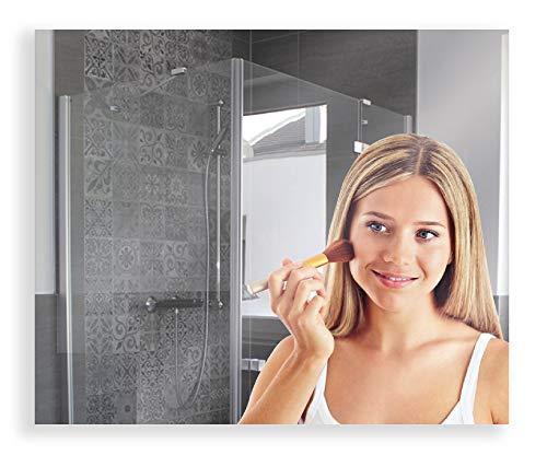 Artland Wandspiegel zum Aufhängen Rahmenlos 50x60 / 60x50 cm Rechteckig Spiegel ohne Rahmen für Wohnzimmer Badezimmer Flur B8JP