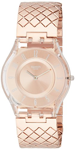 Swatch Reloj Digital para Mujer de Cuarzo con Correa en Plástico SFE110GA