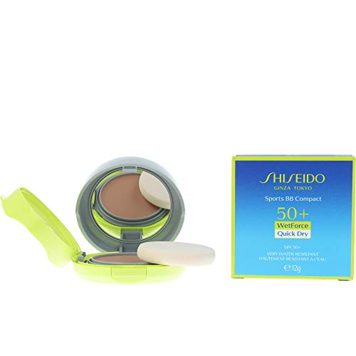 Shiseido Sun Care Sport Bb Compact Spf50+ #Medium 12 Gr - 12 Mililitros
