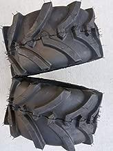 OTR LAWN TRAC Two 18X8.50-8 18X850-8 Bar Lug Tires 4 ply Rated Heavy Duty