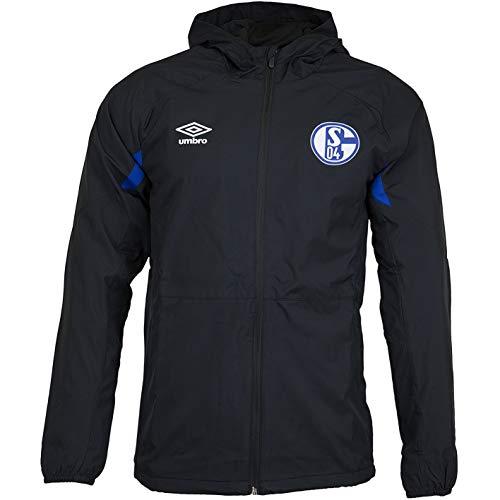 FC Schalke 04 Umbro Regenjacke Jacke (XL, schwarz)