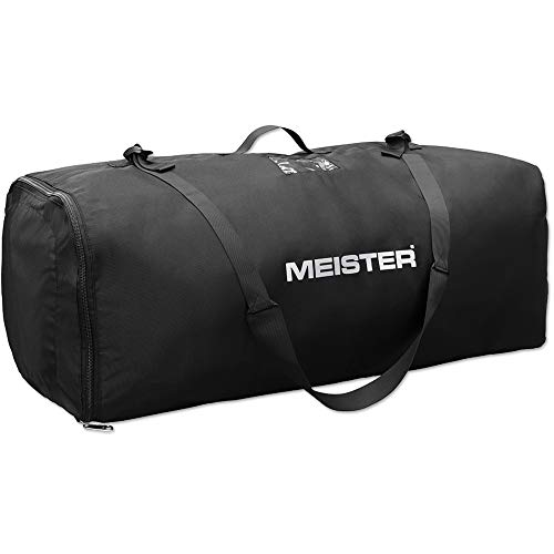 Meister Pack Duffel Bag - Protective Air Travel Case for Backpacks up to 75L - Black