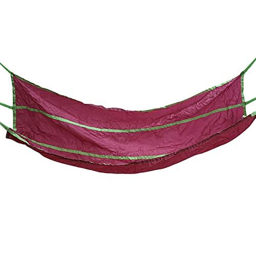 Gaviny Hamaca, Hamaca para Acampar al Aire Libre, Mochila portátil, Columpio para Colgar en el hogar, Productos para el Ocio al Aire Libre, Cama