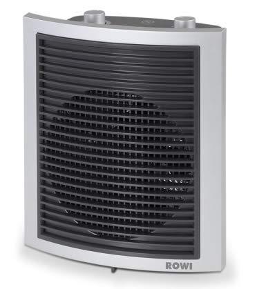Rowi Bad- Schnellheizer, 2000 Watt, Thermostat, Überhitzungsschutz, Ventilation