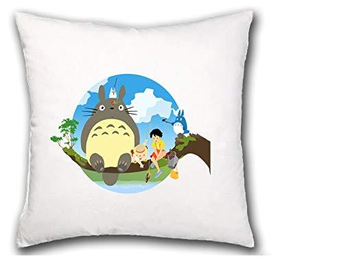 MERCHANDMANIA COJIN Totoro Sentado EN ARBOL hogar Comodo cussion