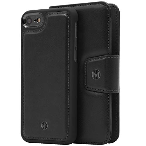 Marvelle N°301 5371613 Funda para teléfono móvil 14 cm (5.5') Funda Cartera Negro - Fundas para teléfonos móviles (Funda Cartera, Apple, iPhone 7 Plus, iPhone 8 Plus, 14 cm (5.5'), Negro)