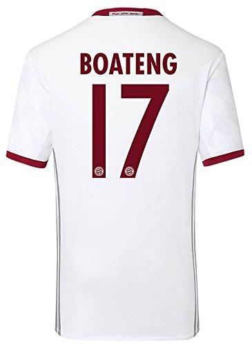Adidas Jungen FC Bayern München UCL Trikot (Boateng 17, 164)