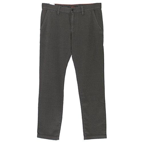 Alberto, Lou, Herren Herren Jeans Hose Twill Stretch Schiefergrau Structure W 29 L 32 [17869]