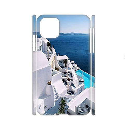 Print with Santorini For Huawei P40 Pro Phone Cases Abs Unusual Guy Choose Design 32-2