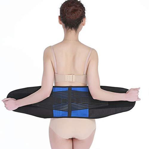 LSRRYD Adjustable Neoprene Double Pull Back Support Belt Posture Corset Lumbar Support Belt For Men Women For Back Pain Size 3XL