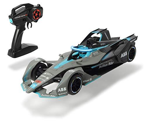 Dickie Toys 203167000 Formula E Gen2 Auto, RC Rennauto, Gun-Controller, Attack-Modus, Halo-Lichteffekt, 8 bis max. 11 km/h, USB-Ladefunktion, inkl. Batterien, 36 cm, ab 6 Jahren